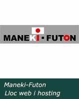 Maneki futon web