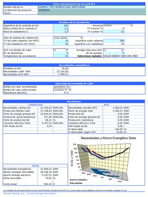 Aerotermia Calefacción y ACS