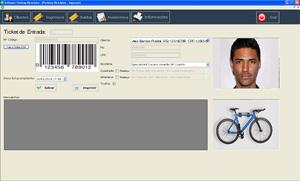 Gestion Bicicletas Tiket Entrada