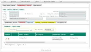 Gestion PRL2 Contactos