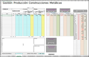 Gestion Construcciones Metalicas Entrada Pedidos